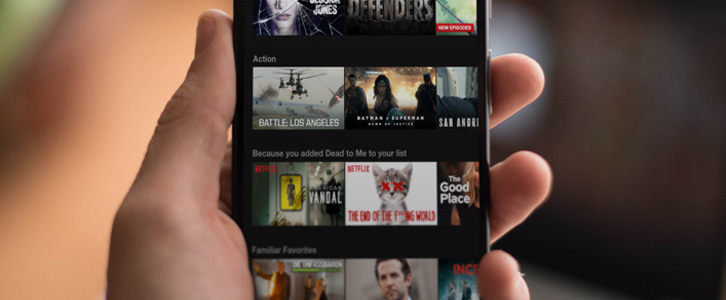 Netflix recommends similar programmes and evaluates how accurate its last recommendation was