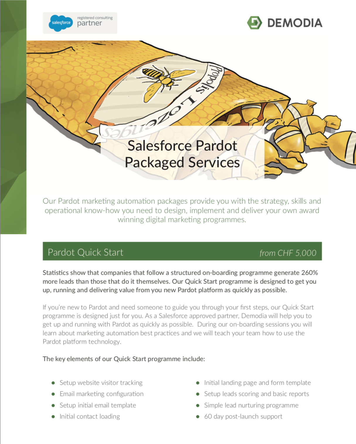Pardot Marketing Automation Services Packages