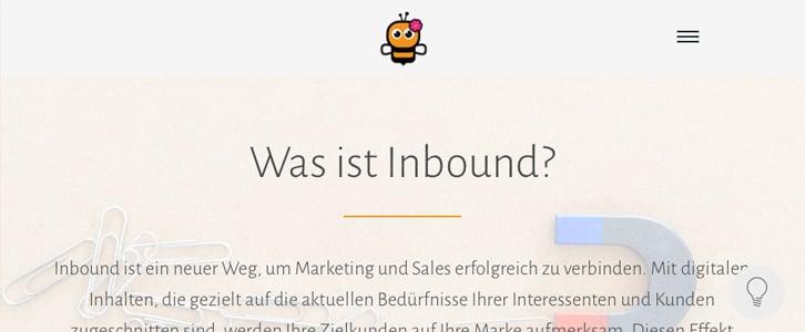 BeeInbound home page