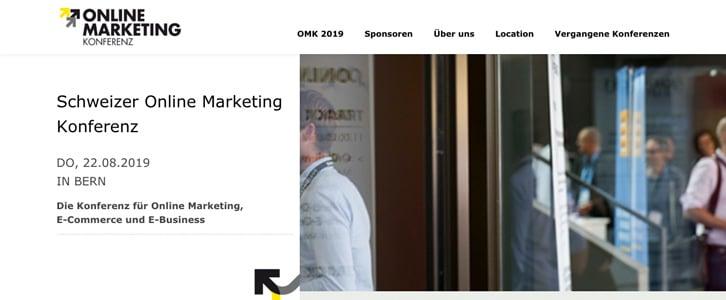 Schweizer Online Marketing Konferenz