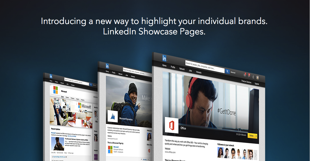 5 Examples of Great LinkedIn Showcase Pages